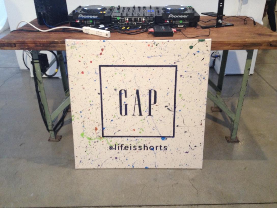manchic at GAP's #lifeisshorts NYC