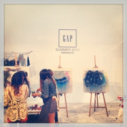 Out & About: GAP's #LifeIsShorts – A Multicolored BBQ