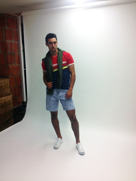 Manchic, Behind the Scenes: Burkman Bros Lookbook SS2014