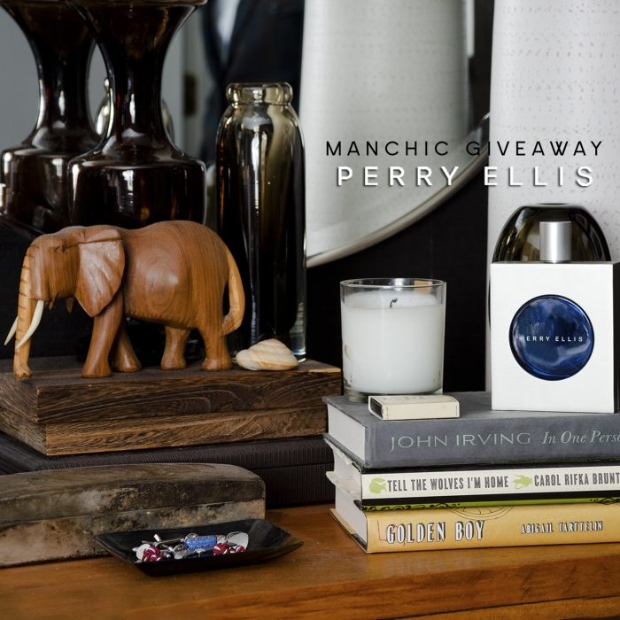 Manchic Giveaway: Perry Ellis Cobalt