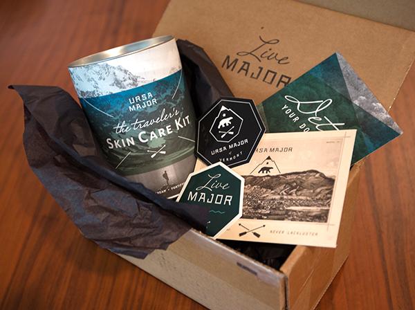 Manchic Giveaway: Ursa Major Traveler's Skin Care