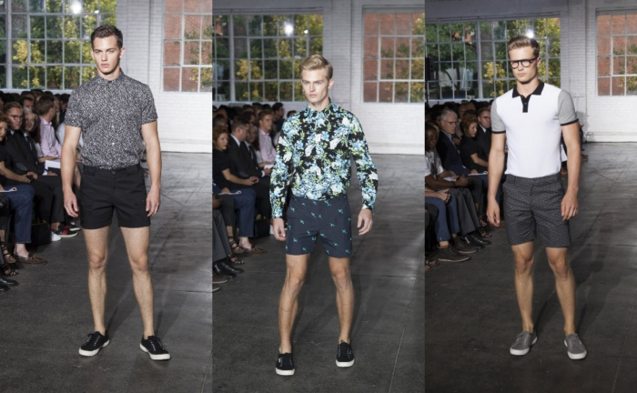 Parke & Ronen Spring 2015, Abs, Boys and Swim Trunks