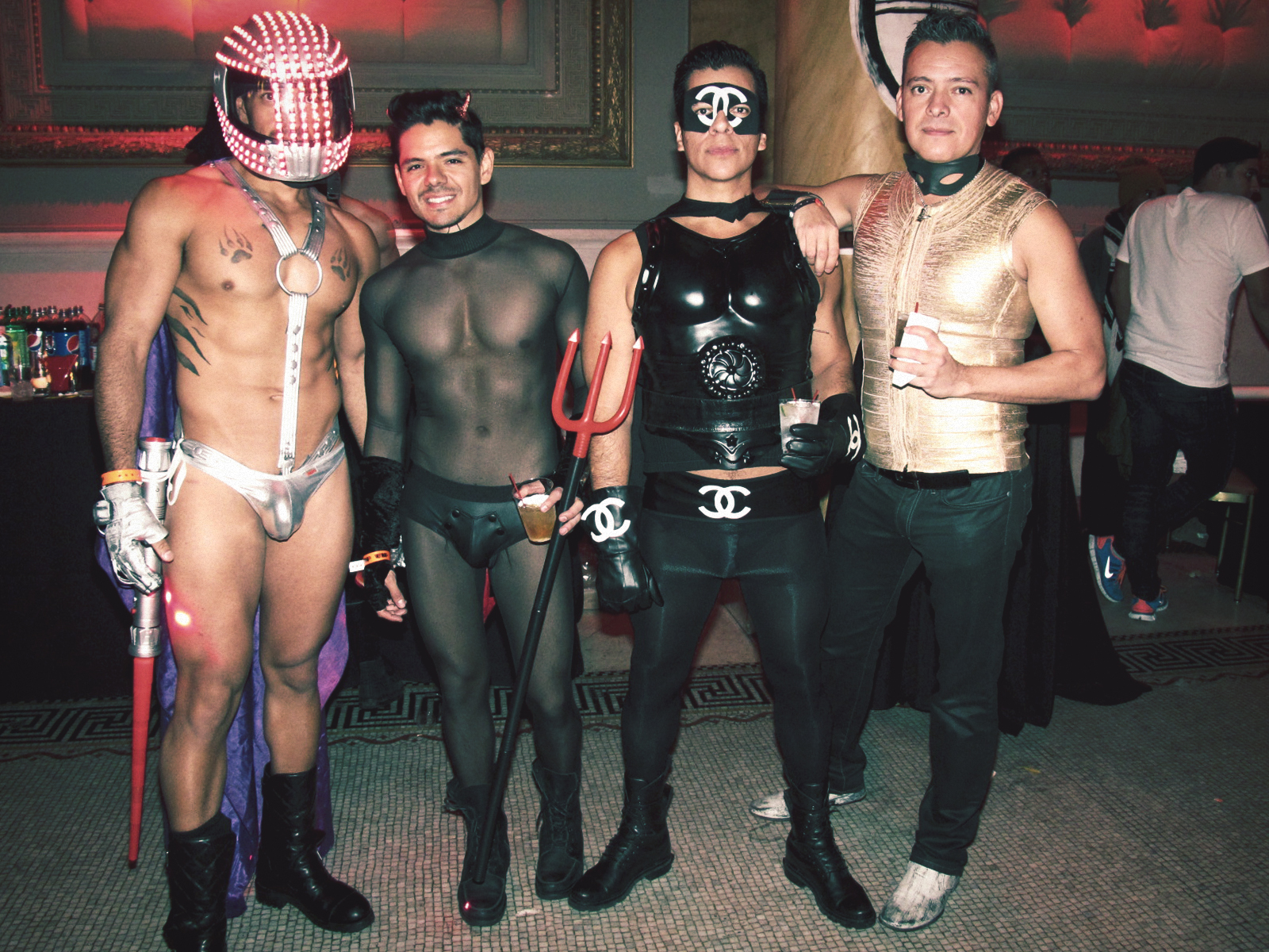 Gay Halloween Party Img