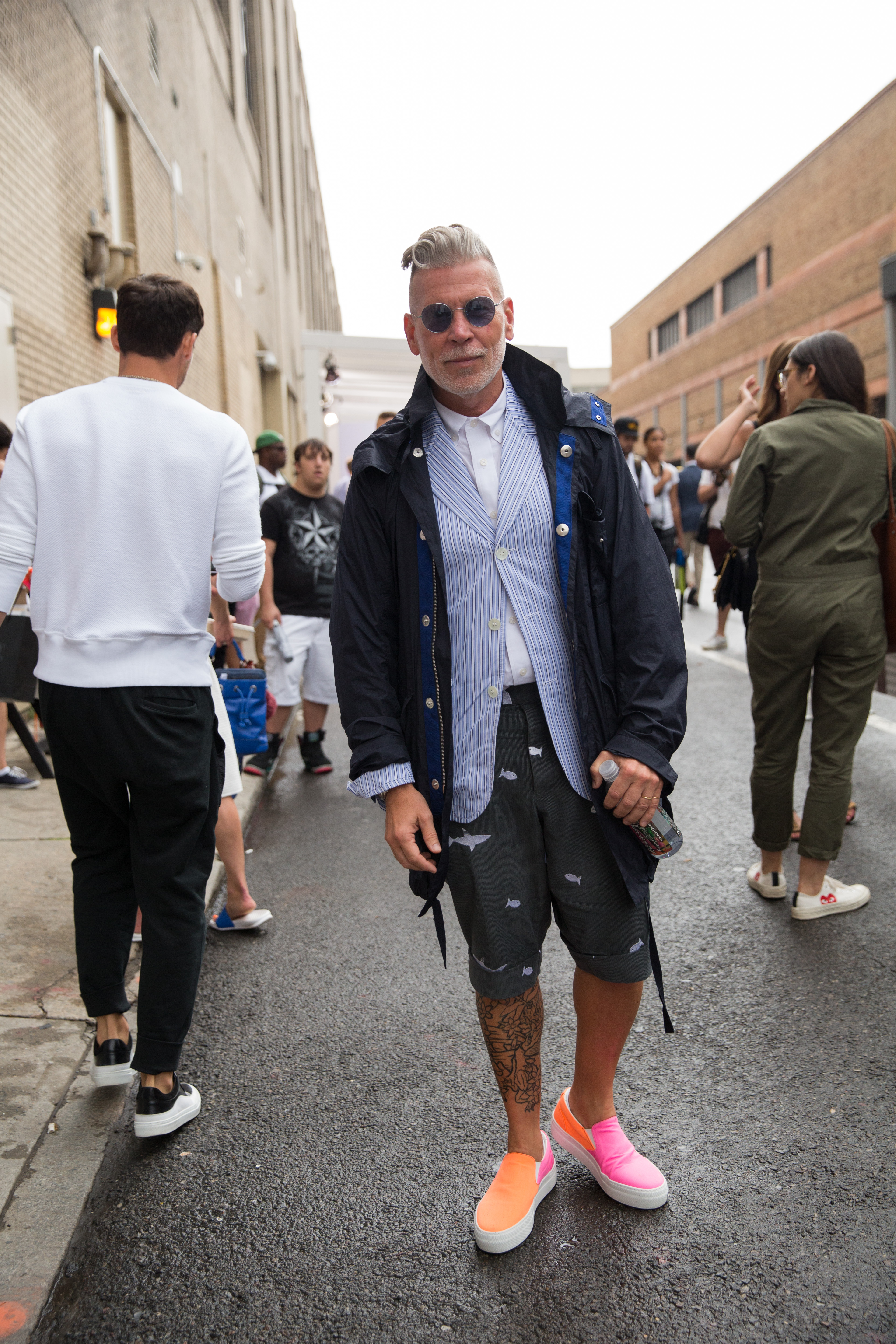 Street Style At New York Fashion Week Men S I Am Manchic