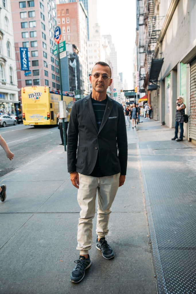 Street Style At New York Fashion Week: Men's