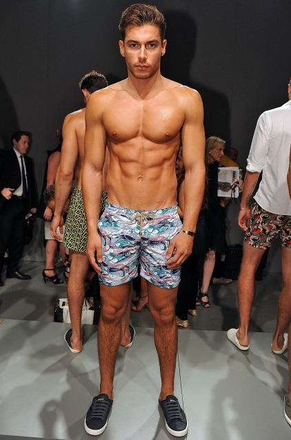 My Favorite Male Models From New York Fashion Week: Men's