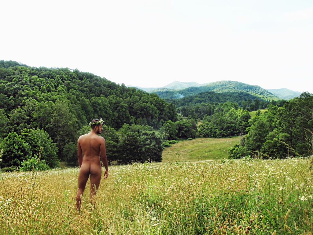 Bear and Butterfly gay clothing-optional resort
