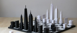 This New York Skyline Chess is the ideal last-minute Father's Day gift